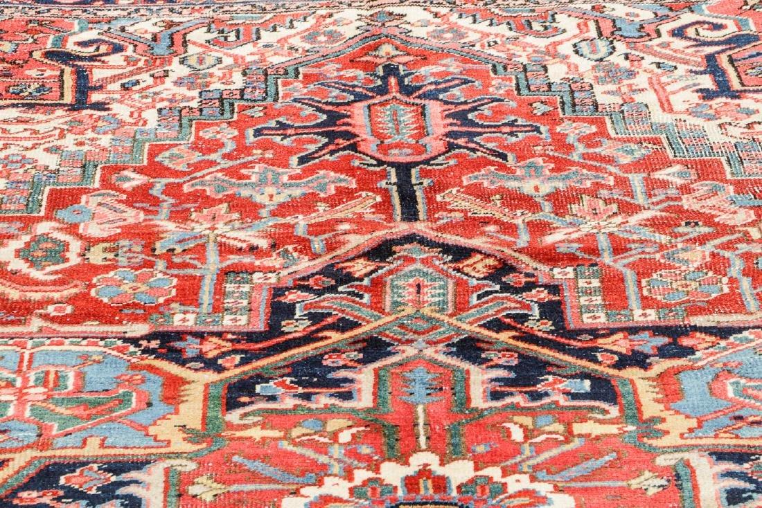 Antique Heriz Rug, Persia: 7'10'' x 10'2'' - 6