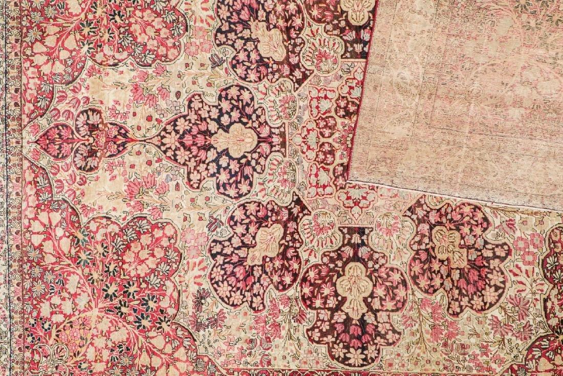 """Antique Lavar Kerman Rug, Persia: 9'8'' x 12'6"""" - 4"""