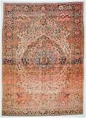 19th C. Ferahan Sarouk Rug, Persia: 8'6'' x 11'7''