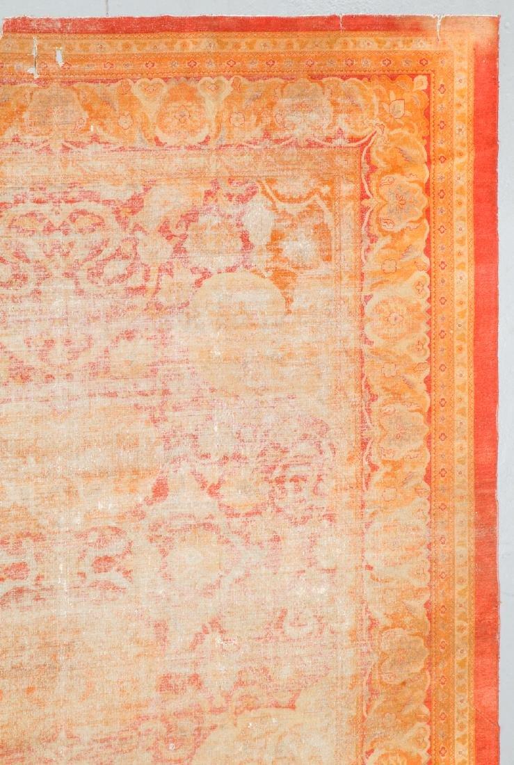 19th C. Amritsar Rug, India: 12'5'' x 14'9'' - 2