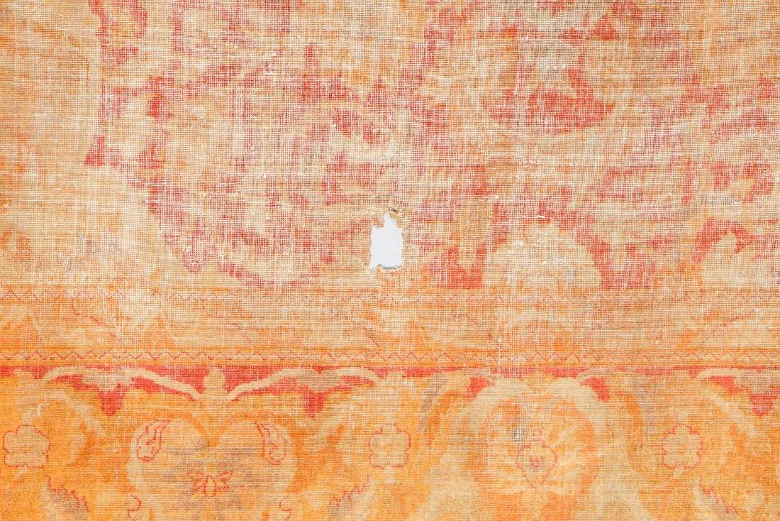 19th C. Amritsar Rug, India: 12'5'' x 14'9'' - 4
