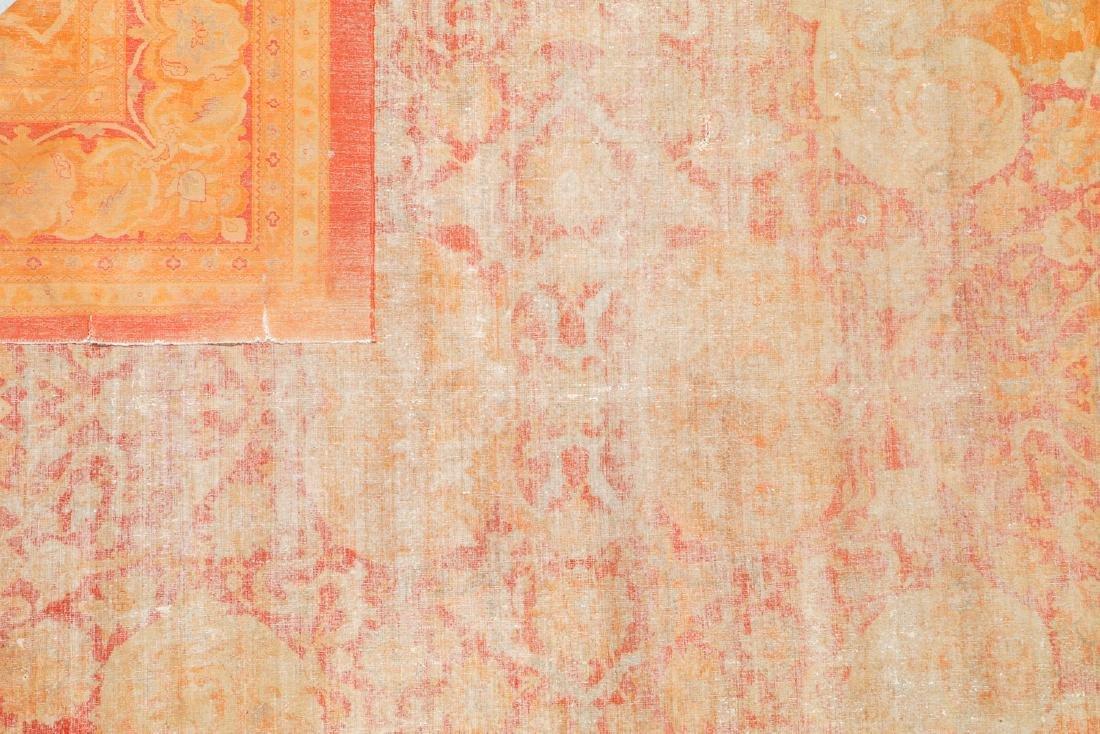 19th C. Amritsar Rug, India: 12'5'' x 14'9'' - 5