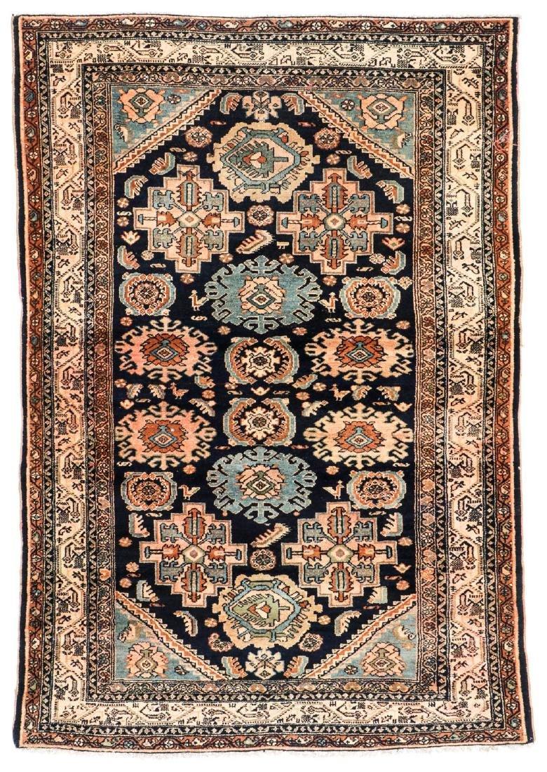 Antique Hamadan Rug, Persia: 5'4'' x 6'3''