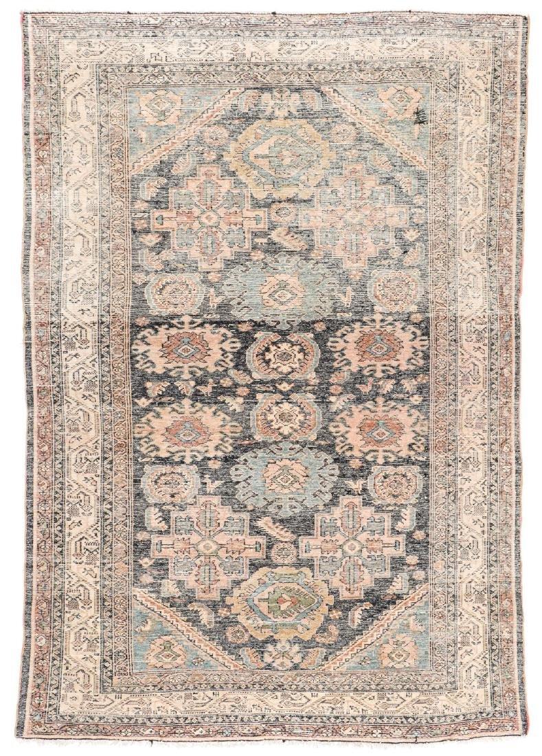 Antique Hamadan Rug, Persia: 5'4'' x 6'3'' - 6