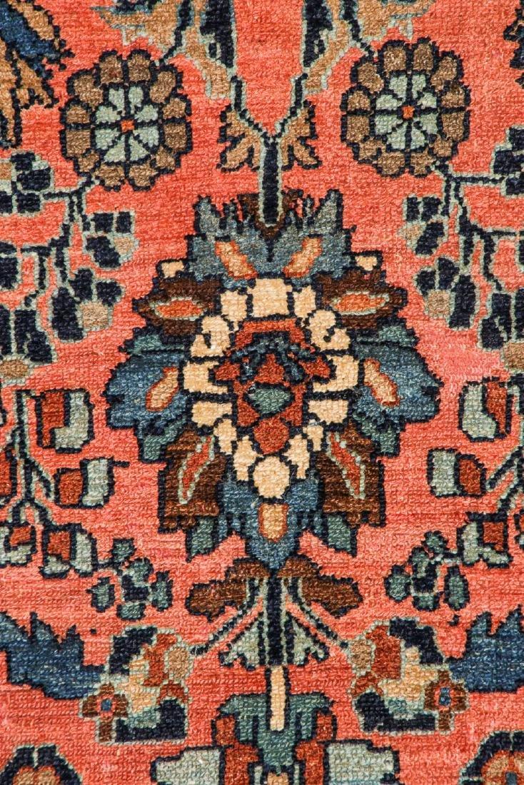 Antique Mansion Size Hamadan Rug, Persia: 12'5'' x 20' - 3