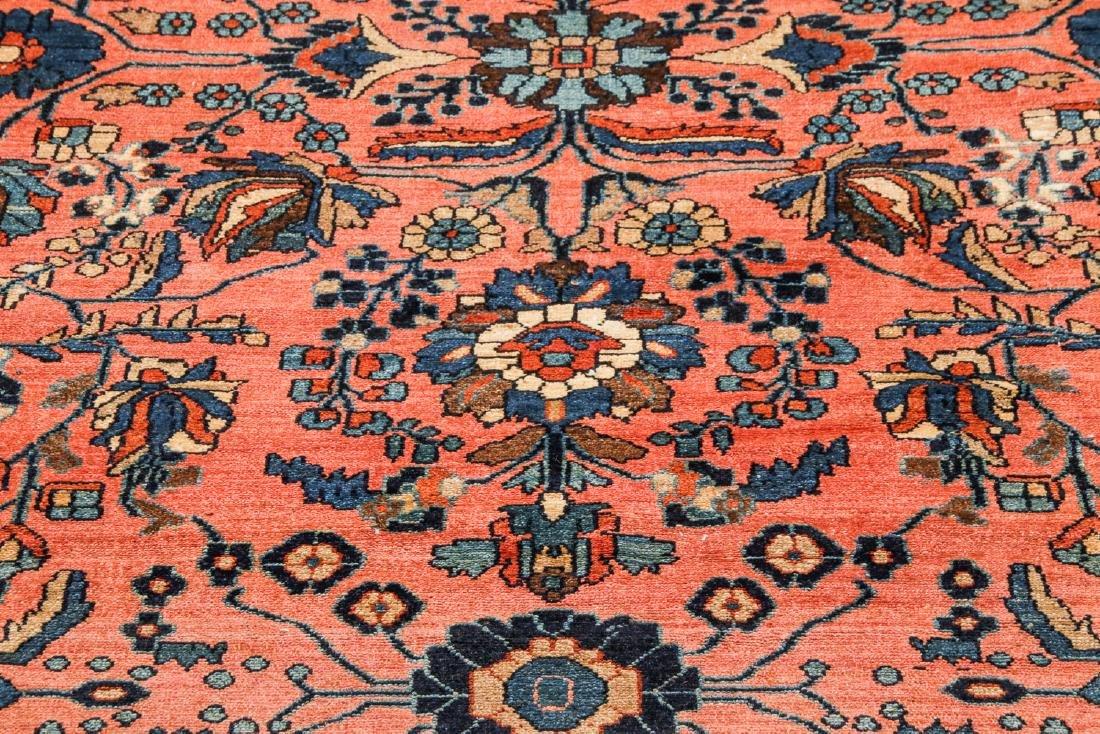 Antique Mansion Size Hamadan Rug, Persia: 12'5'' x 20' - 6