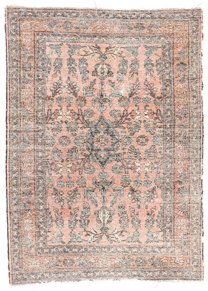 Antique Hamadan Rug, Persia: 4'7'' x 6'5'' - 6
