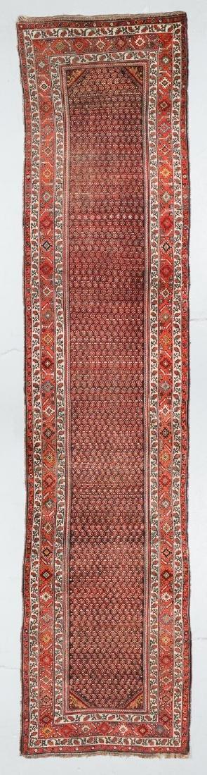 Antique Malayer Rug, Persia: 3'11'' x 17'4''