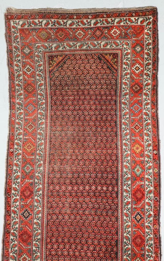 Antique Malayer Rug, Persia: 3'11'' x 17'4'' - 2