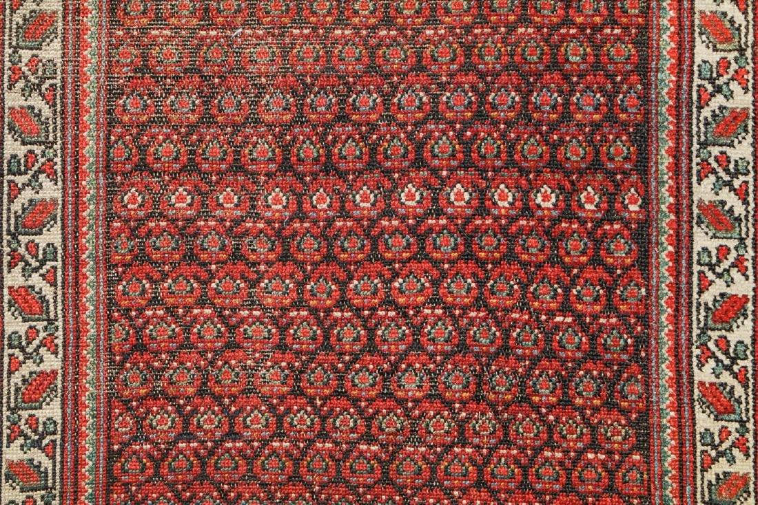 Antique Malayer Rug, Persia: 3'11'' x 17'4'' - 3