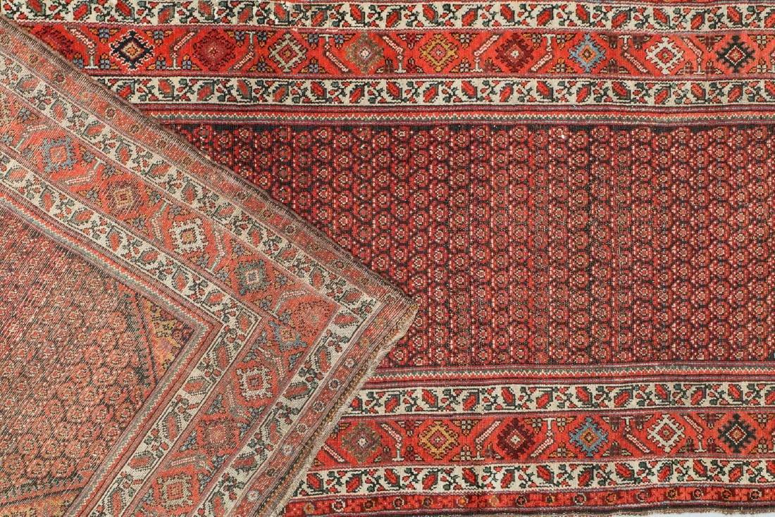 Antique Malayer Rug, Persia: 3'11'' x 17'4'' - 4