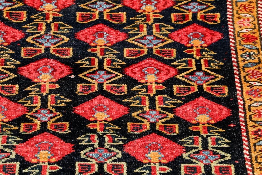 Antique West Persian Kurd Rug: 3'7'' x 15'11'' - 6