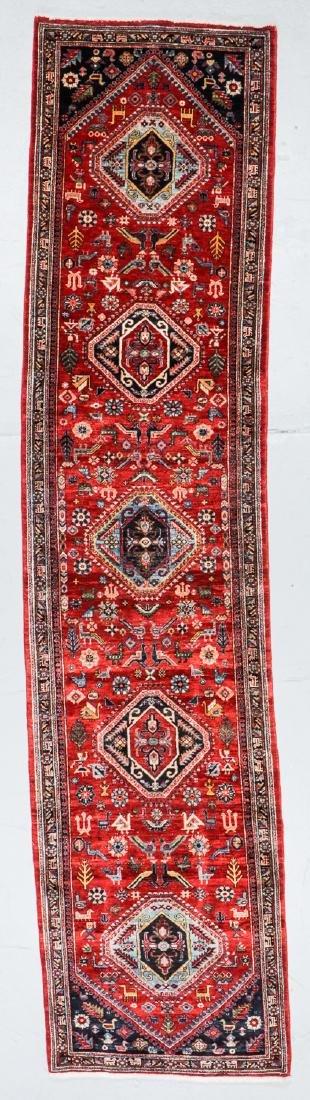 Gashgai Rug, Persia: 2'11'' x 12'6''