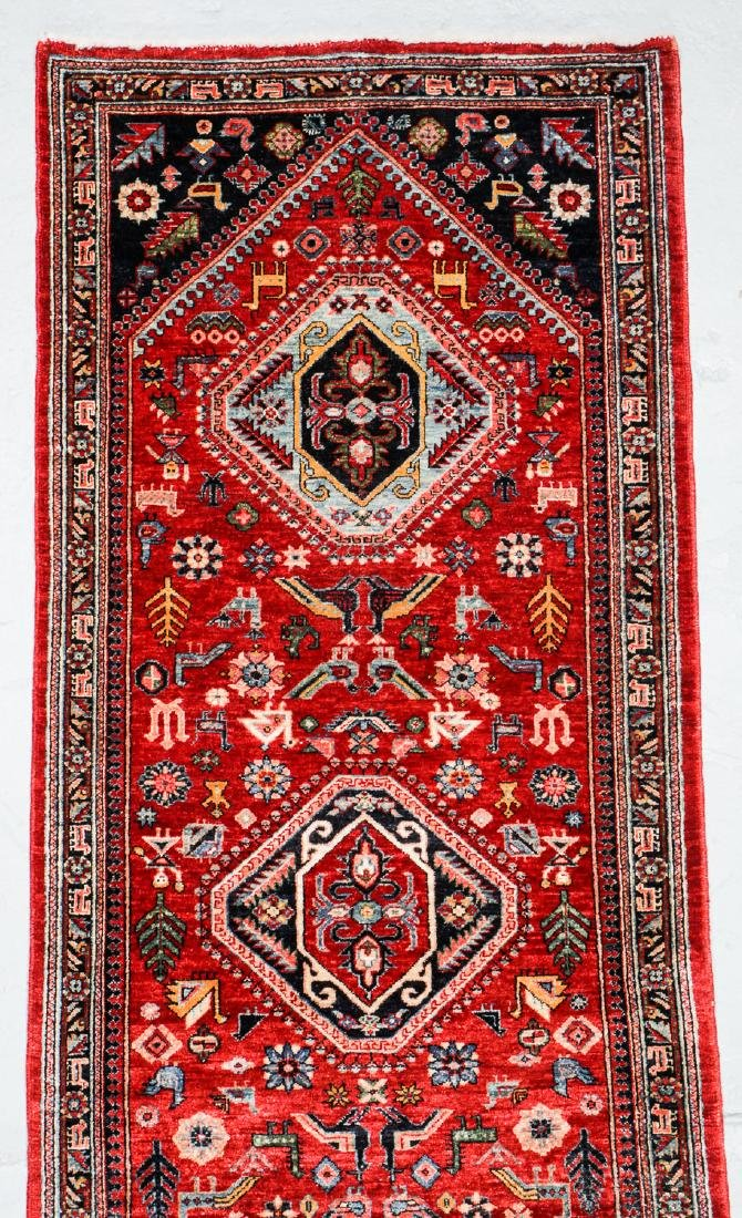Gashgai Rug, Persia: 2'11'' x 12'6'' - 2