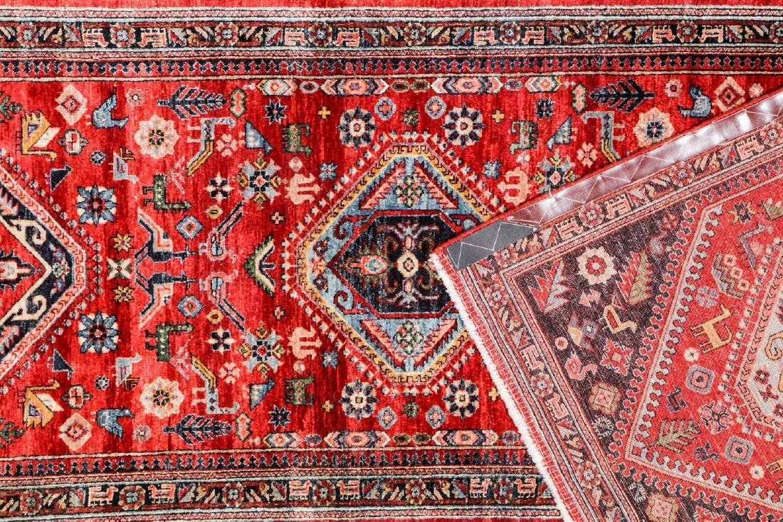 Gashgai Rug, Persia: 2'11'' x 12'6'' - 4