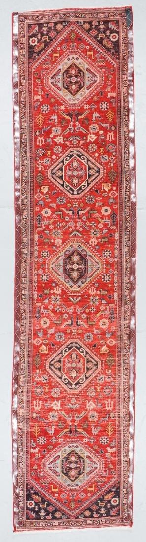Gashgai Rug, Persia: 2'11'' x 12'6'' - 7