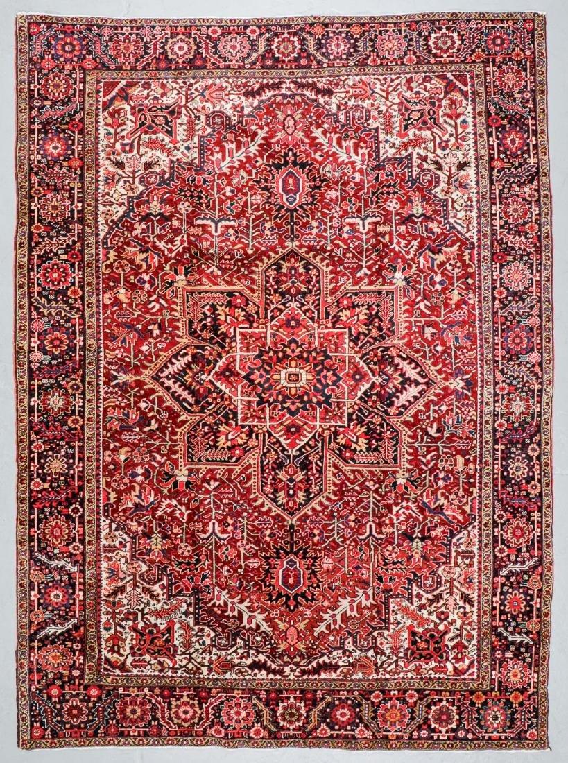 Semi-Antique Heriz Rug, Persia: 8'7'' x 11'11''