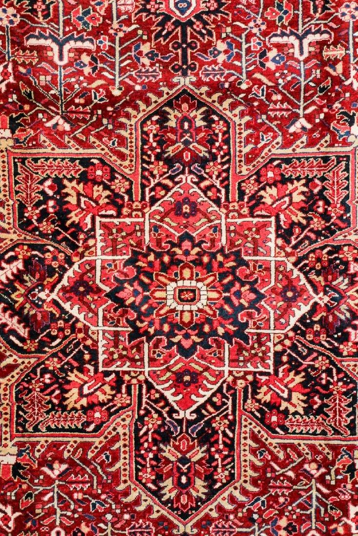 Semi-Antique Heriz Rug, Persia: 8'7'' x 11'11'' - 2