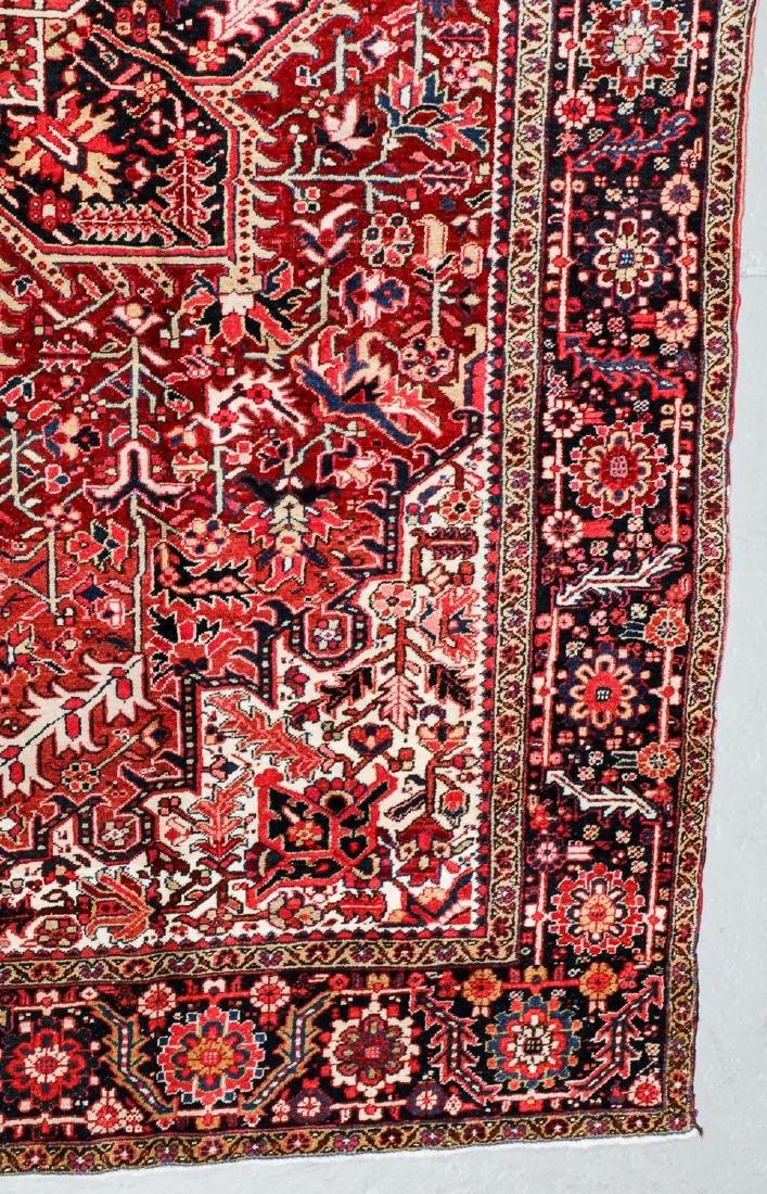 Semi-Antique Heriz Rug, Persia: 8'7'' x 11'11'' - 3