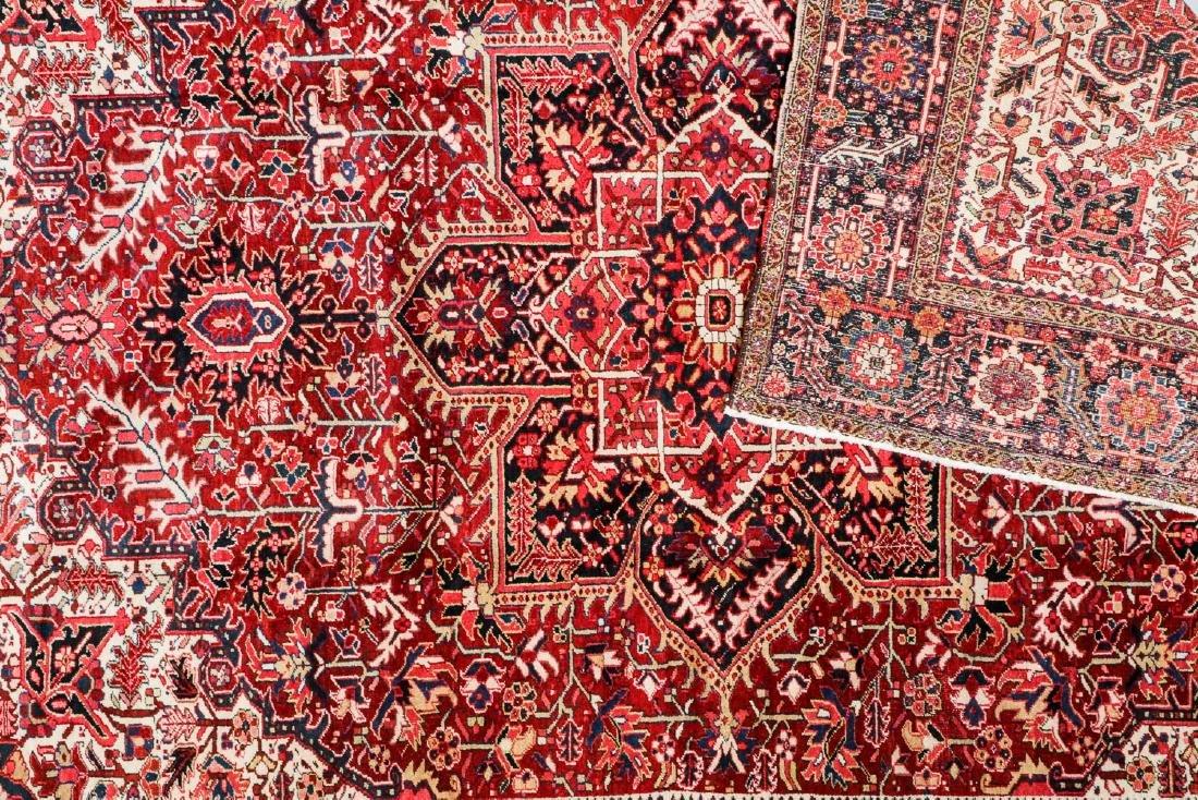 Semi-Antique Heriz Rug, Persia: 8'7'' x 11'11'' - 4