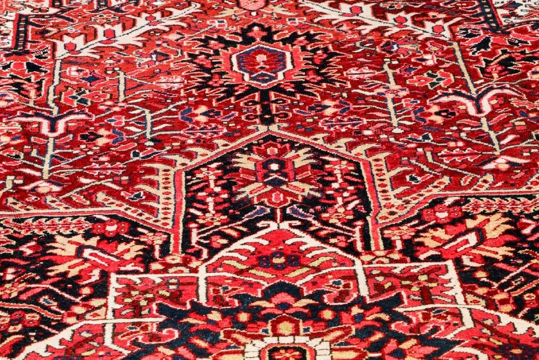 Semi-Antique Heriz Rug, Persia: 8'7'' x 11'11'' - 6