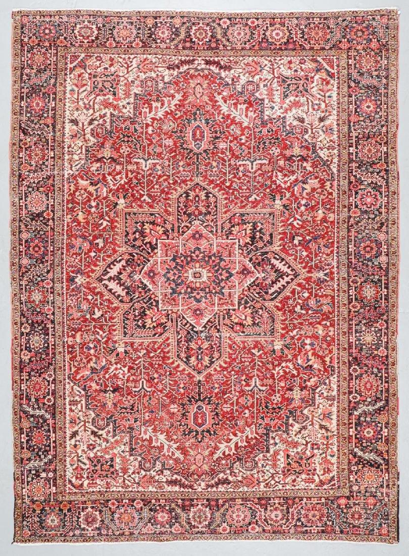Semi-Antique Heriz Rug, Persia: 8'7'' x 11'11'' - 7