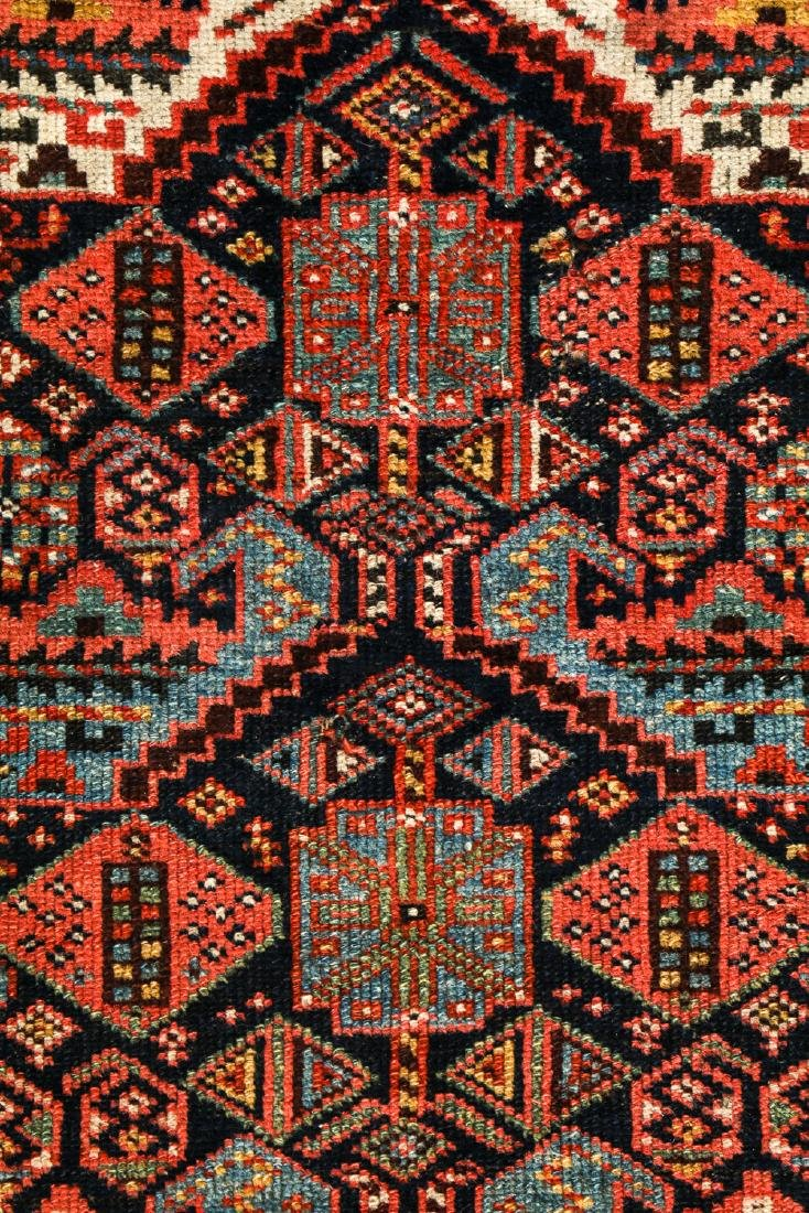 19th C. West Persian Kurd Rug, Persia: 2'6'' x 8'9'' - 2