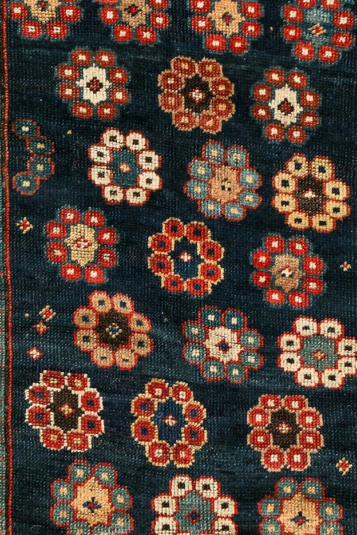 19th C. Kazak Rug, Caucasus: 4'2'' x 7'2'' - 2