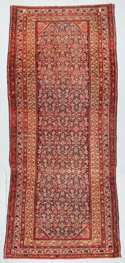 Antique West Persian Herati Rug: 4'9'' x 10'11''