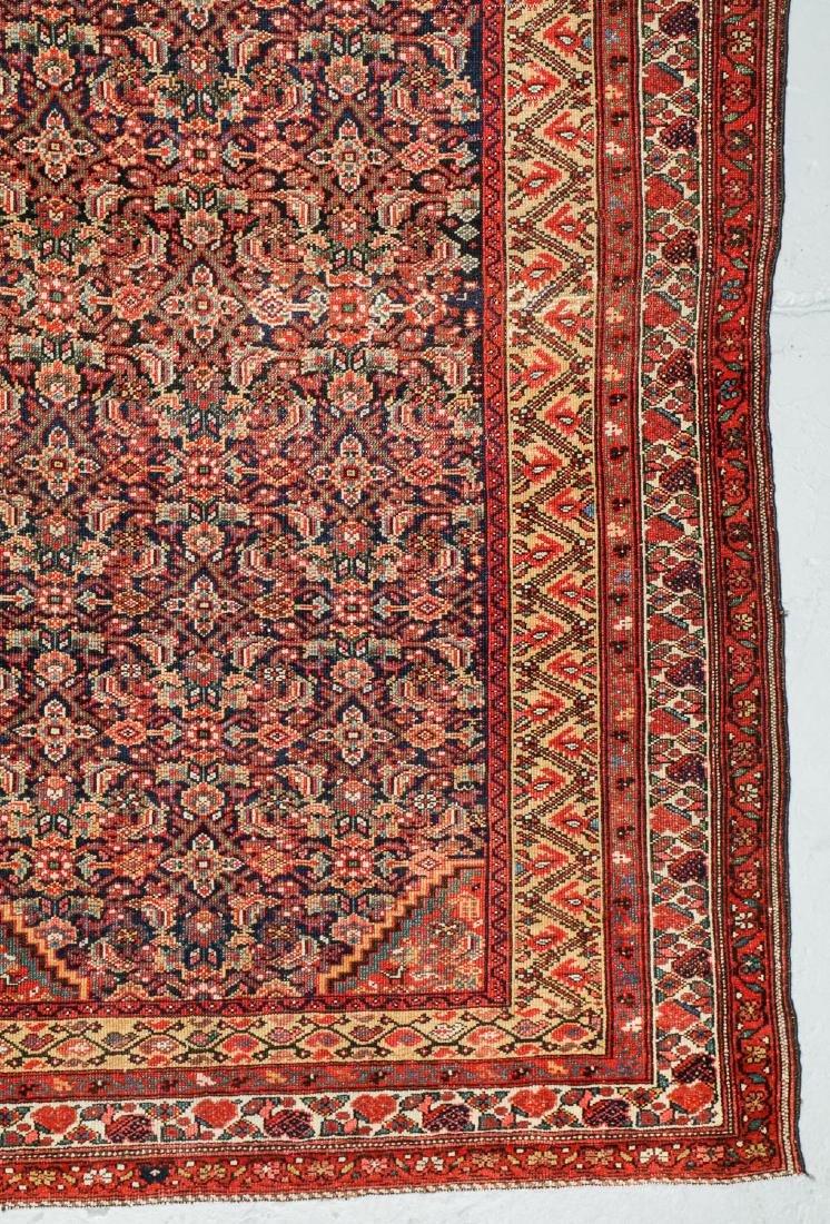 Antique West Persian Herati Rug: 4'9'' x 10'11'' - 2