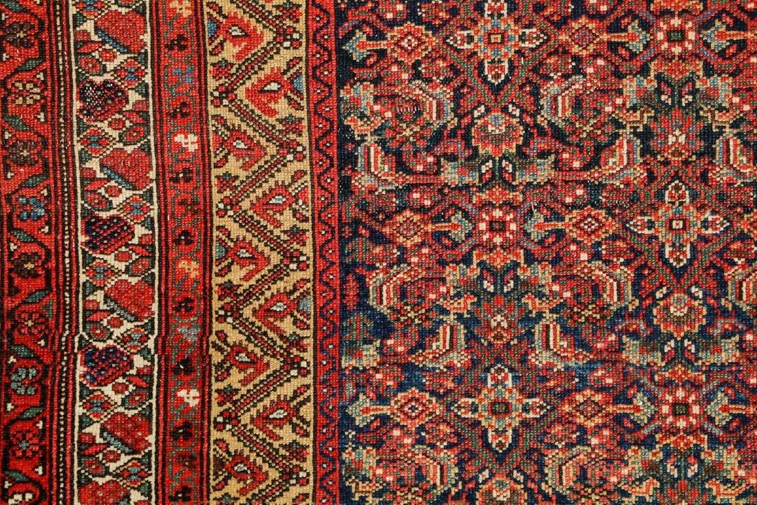 Antique West Persian Herati Rug: 4'9'' x 10'11'' - 3