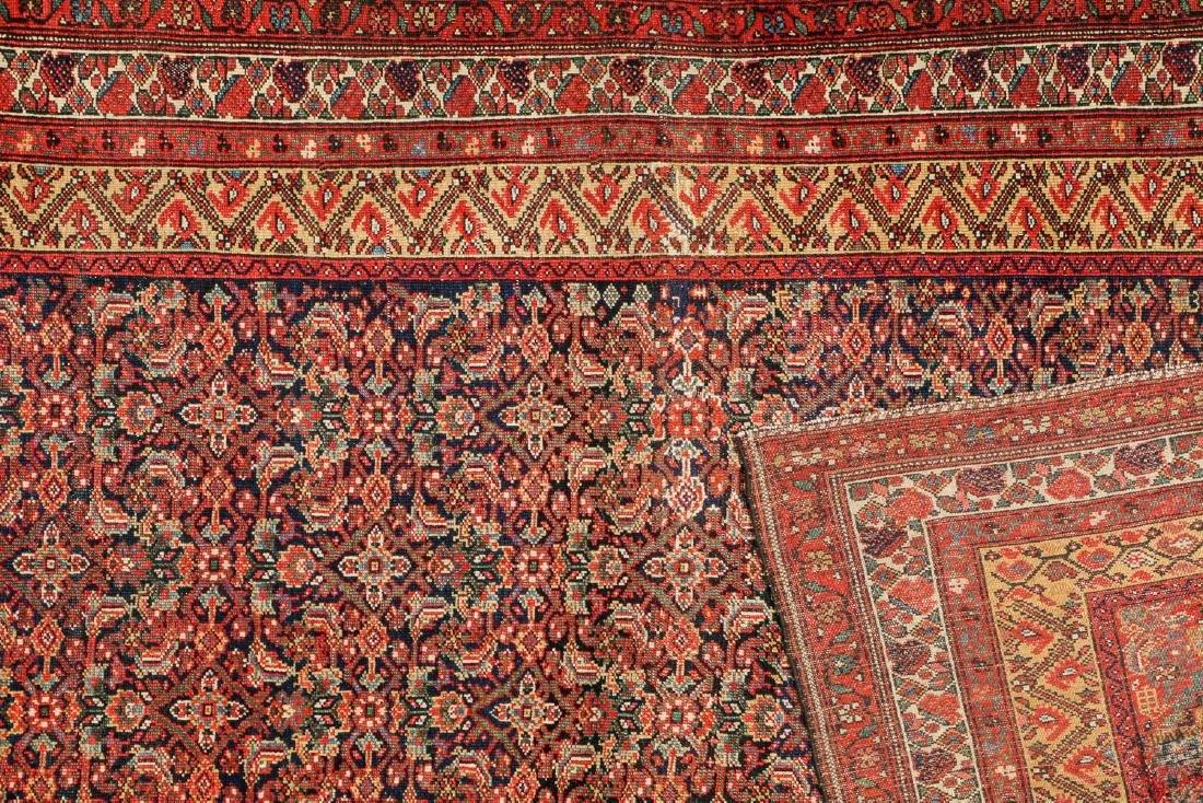 Antique West Persian Herati Rug: 4'9'' x 10'11'' - 4