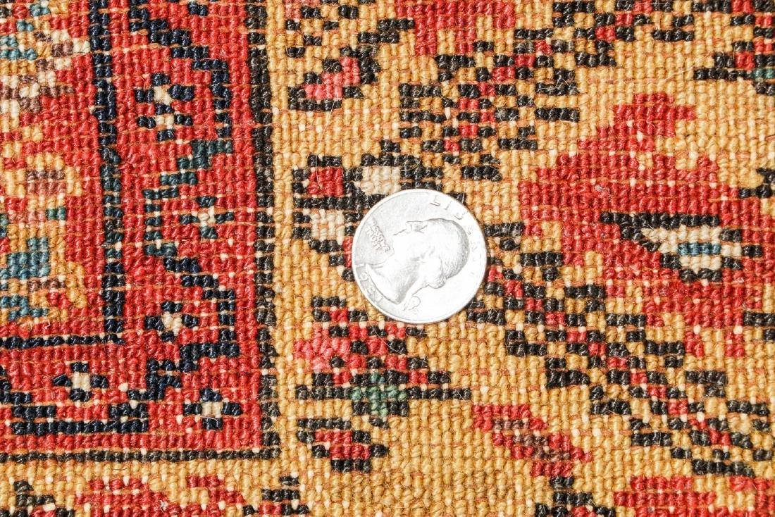 Antique West Persian Herati Rug: 4'9'' x 10'11'' - 5