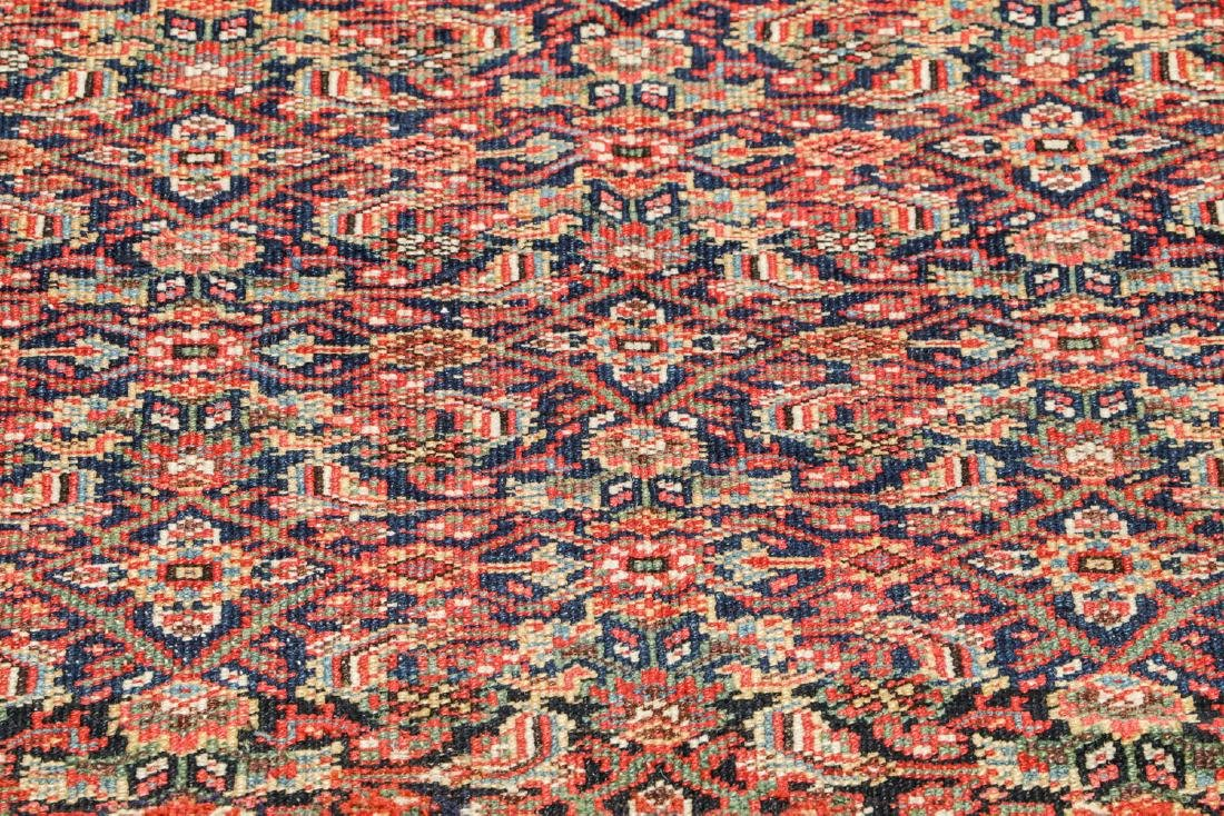 Antique West Persian Herati Rug: 4'9'' x 10'11'' - 6