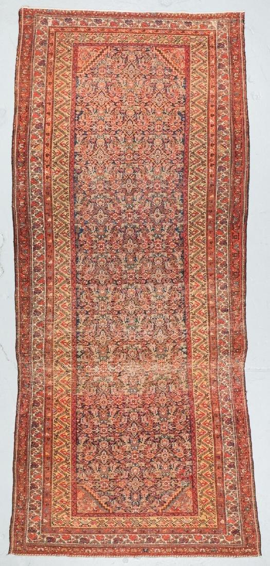 Antique West Persian Herati Rug: 4'9'' x 10'11'' - 7