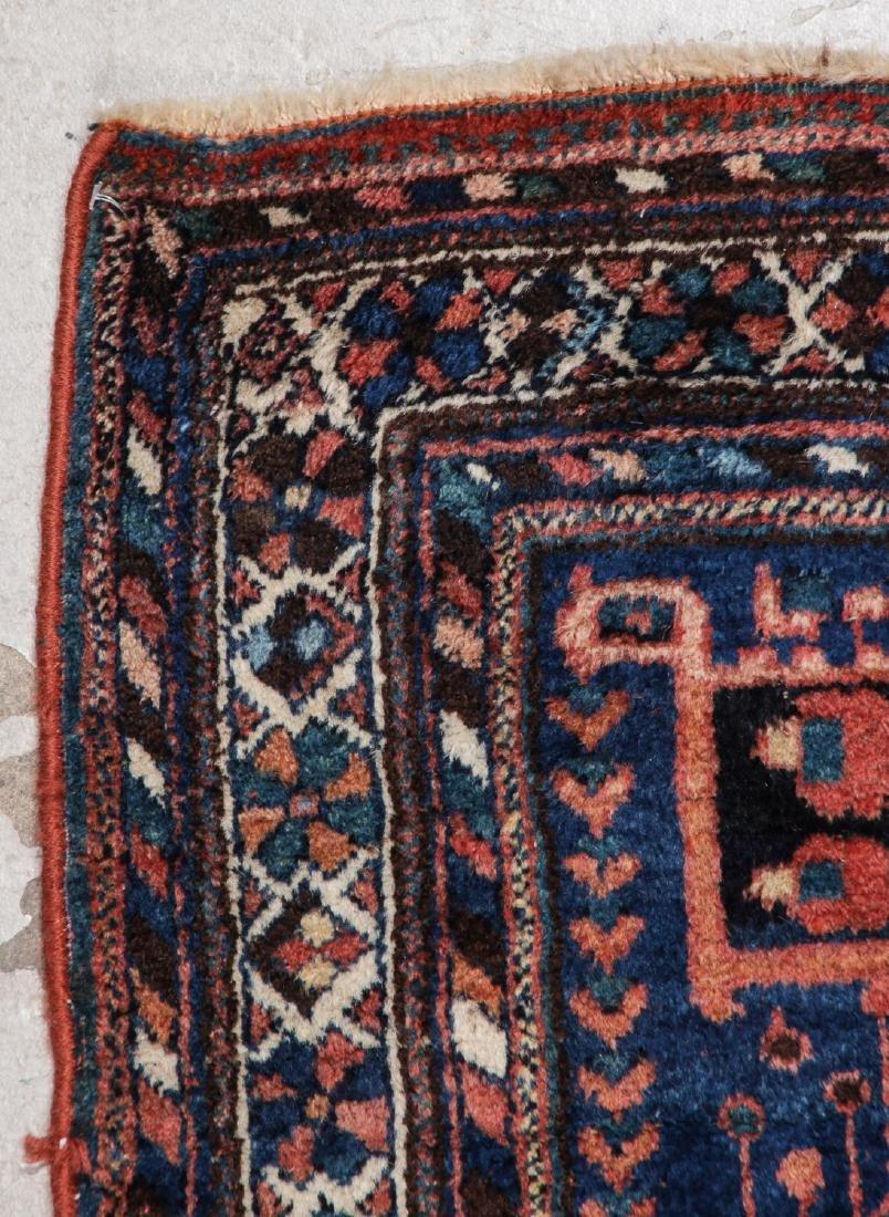 Antique Persian Afshar Rug: 5'3'' x 5'5'' - 2