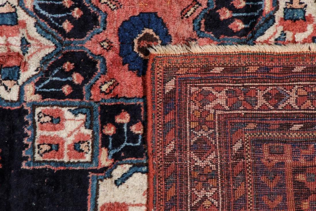 Antique Persian Afshar Rug: 5'3'' x 5'5'' - 3
