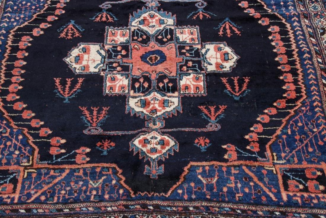 Antique Persian Afshar Rug: 5'3'' x 5'5'' - 5