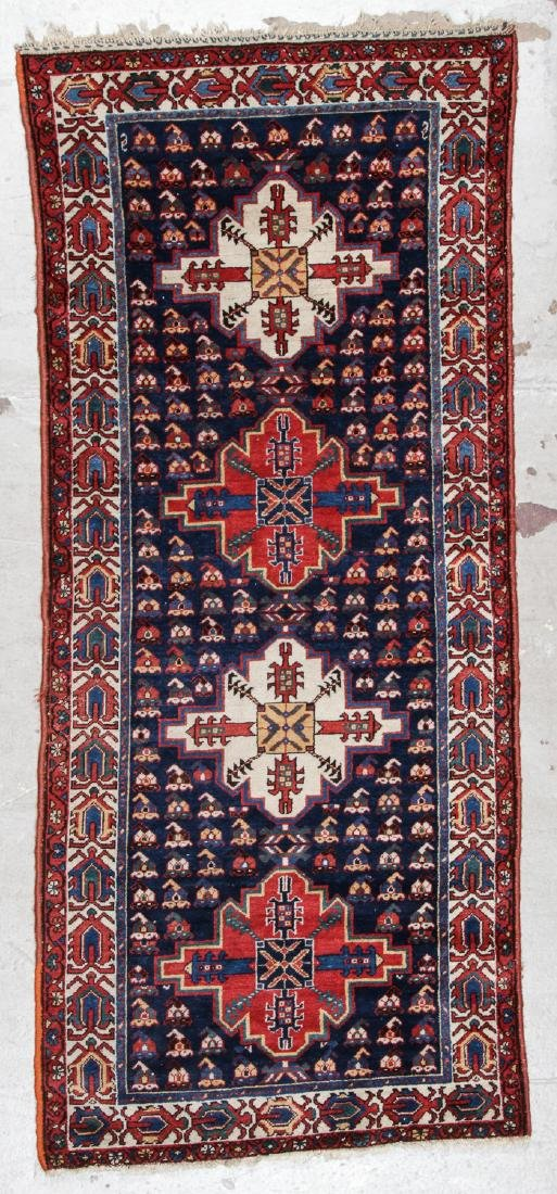 West Persian Rug: 3'3'' x 7'6''