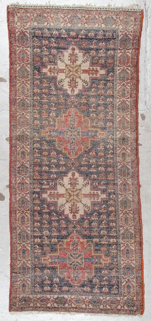 West Persian Rug: 3'3'' x 7'6'' - 6