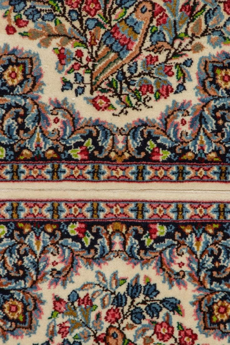 A Pair of Kerman Shared Warp Double Rugs, Persia: 1'8'' - 2