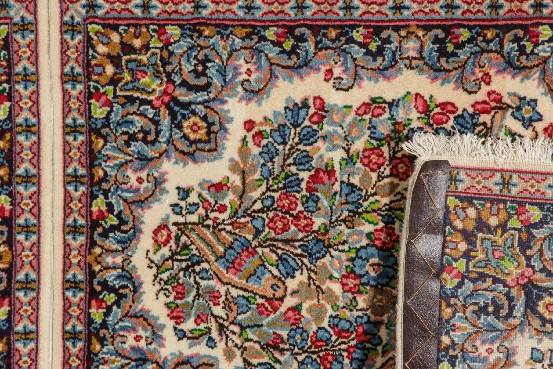A Pair of Kerman Shared Warp Double Rugs, Persia: 1'8'' - 4