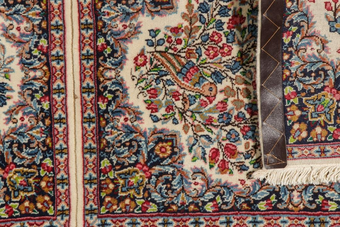 A Pair of Kerman Shared Warp Double Rugs, Persia: 1'8'' - 5