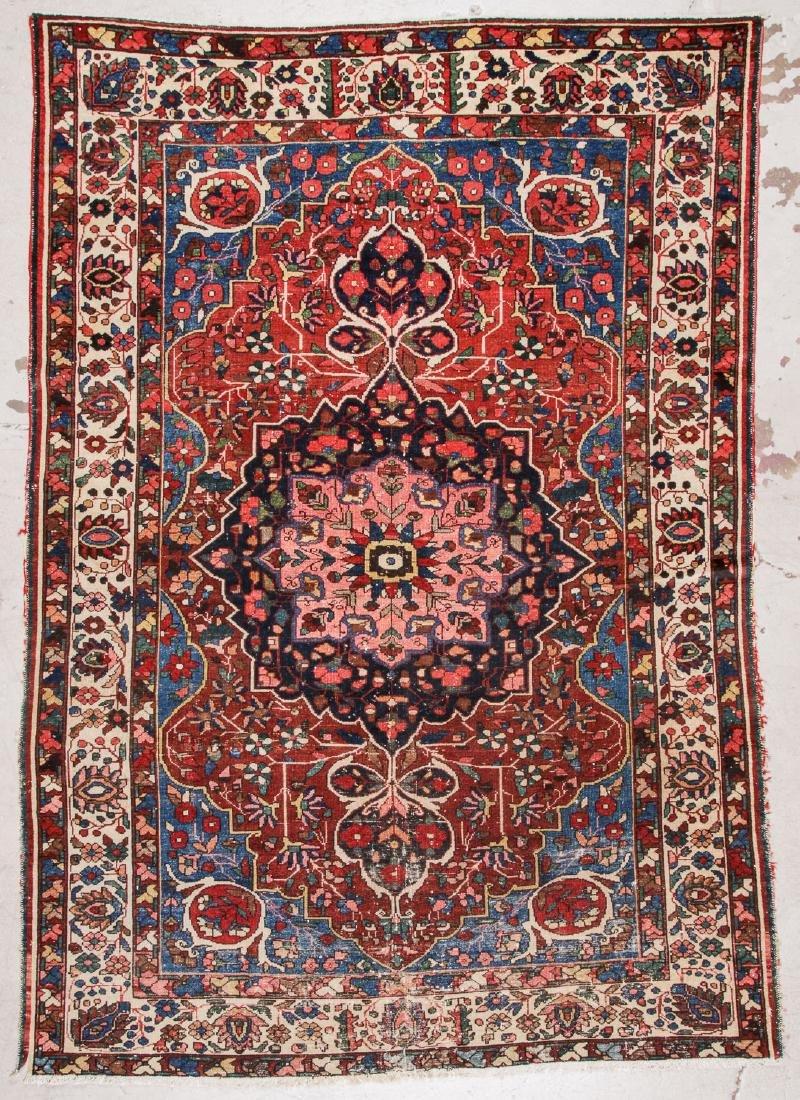 Semi-Antique Baktiari Rug, Persia: 7' x 9'9''