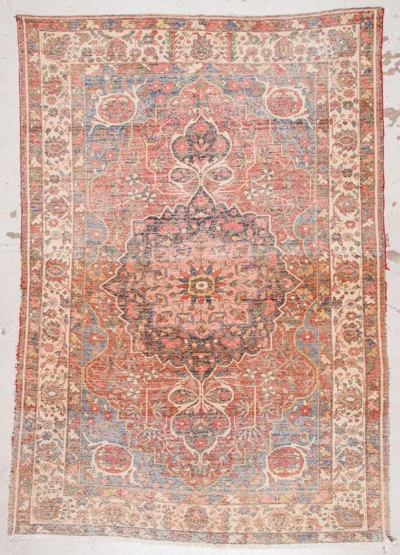 Semi-Antique Baktiari Rug, Persia: 7' x 9'9'' - 7