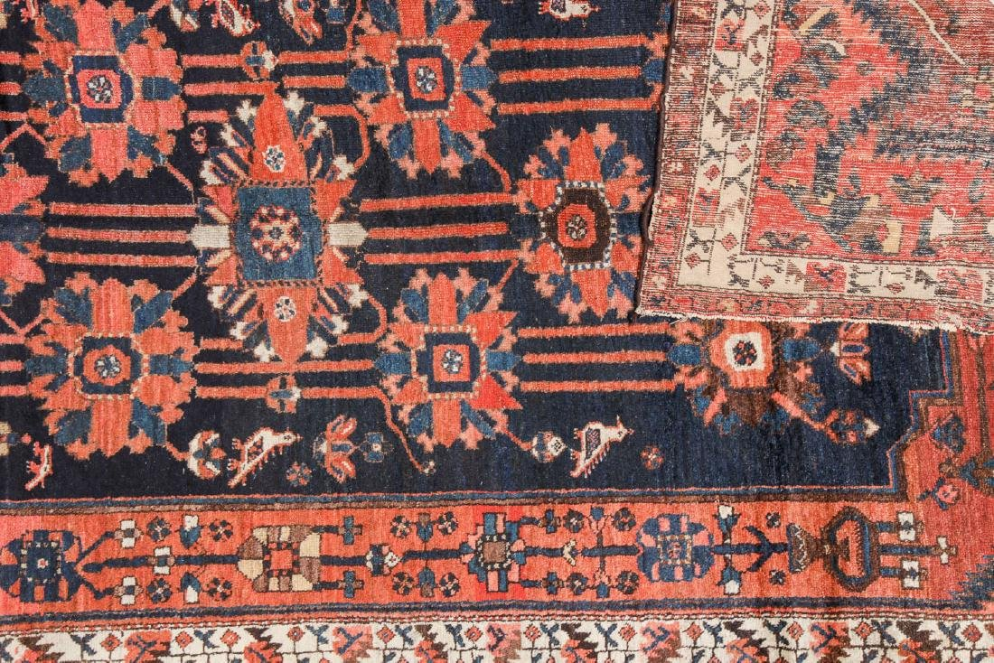 Antique Baktiari Rug, Persia: 5'2'' x 9'7'' - 4