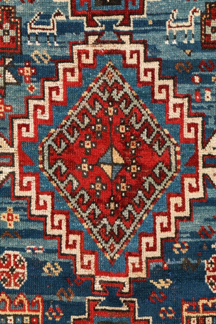 19th C. Kazak Rug, Caucasus: 3'7'' x 6'10'' - 2