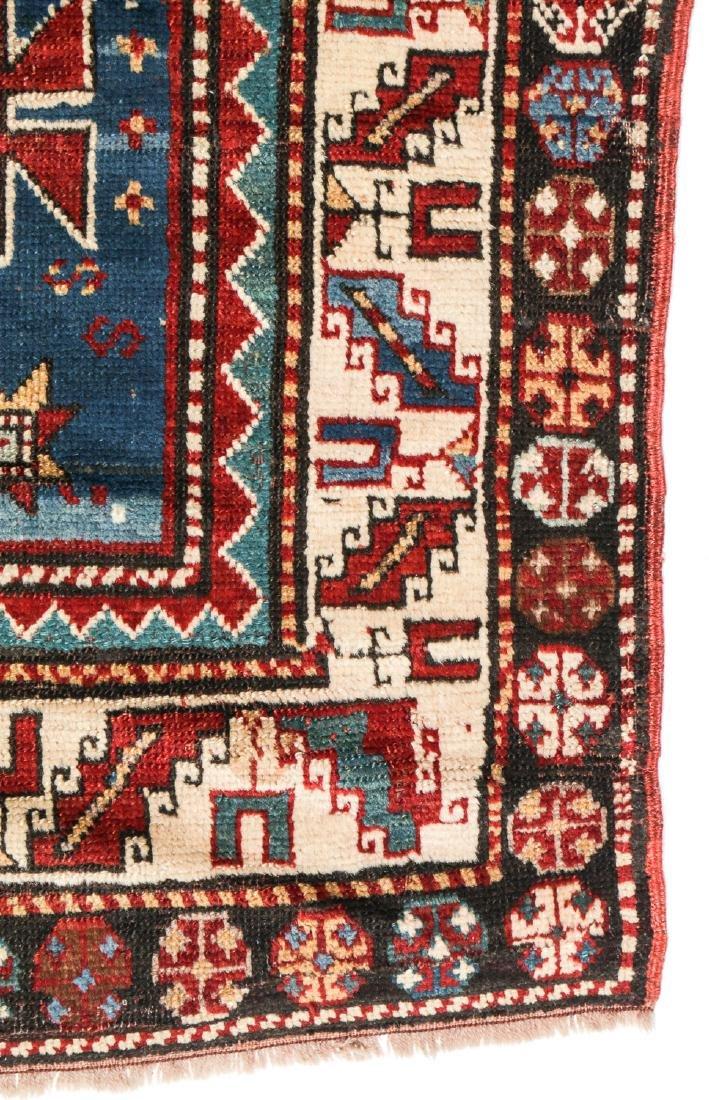 19th C. Kazak Rug, Caucasus: 3'7'' x 6'10'' - 3