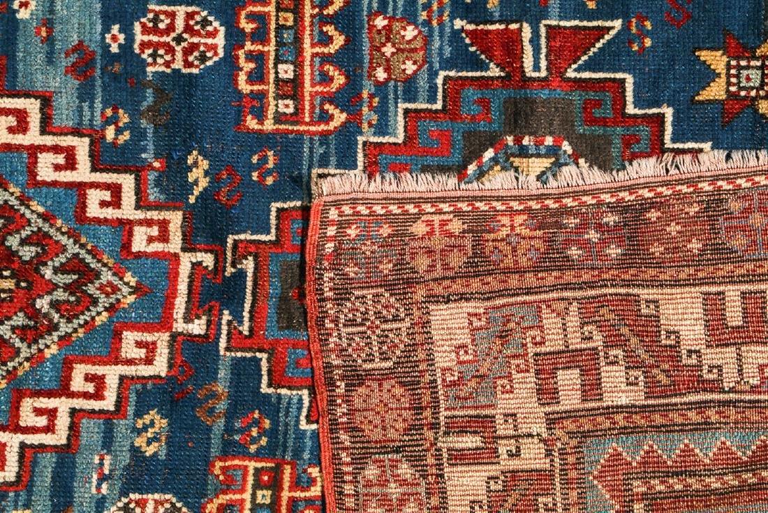 19th C. Kazak Rug, Caucasus: 3'7'' x 6'10'' - 4