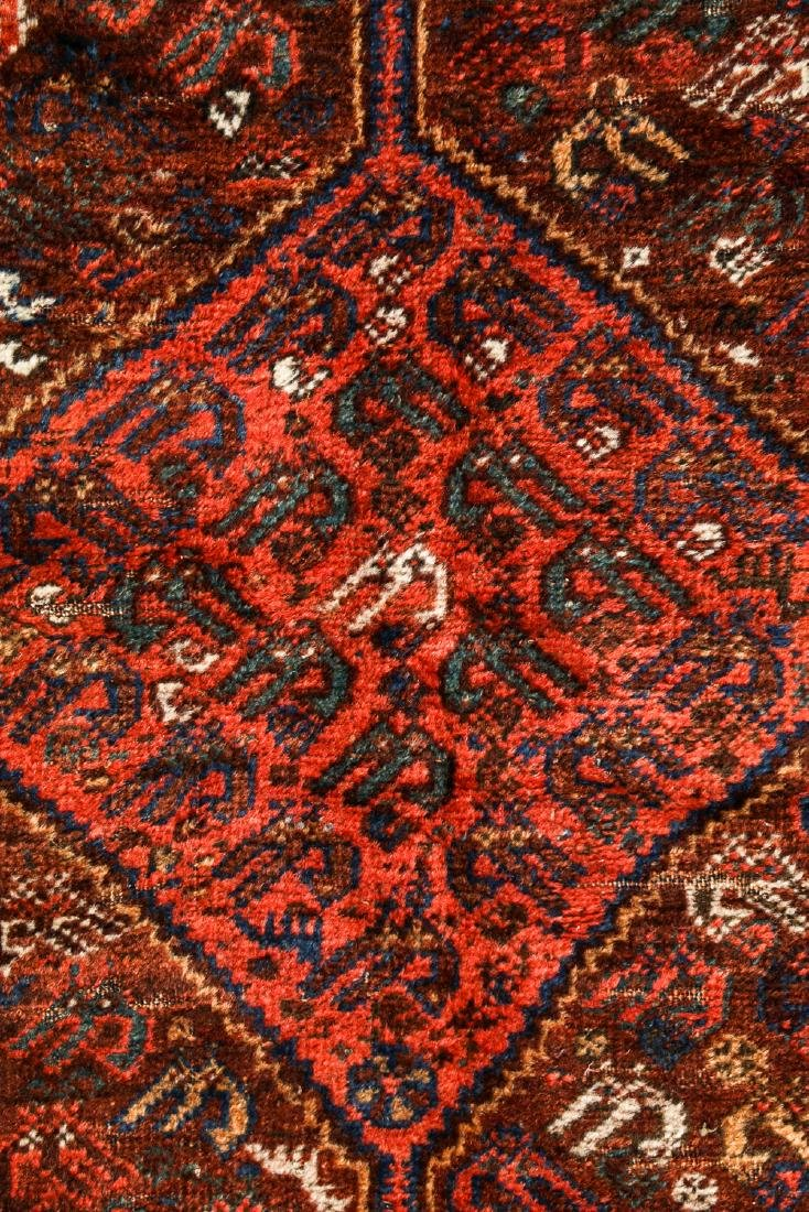 Antique Afshar Rug, Persia: 5'2'' x 6'2'' - 2